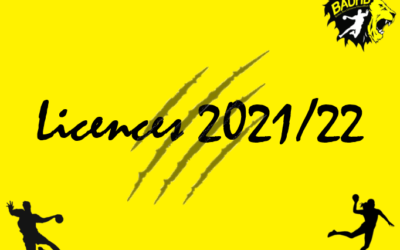 Licences 2021/2022
